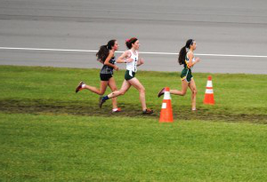 girls cross country finishes season after metro beach race