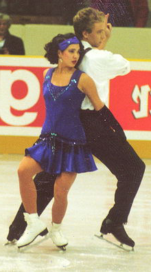 Goolsbee (Scheneble) and Schamberger at the 1992 German Championships in Berlin.